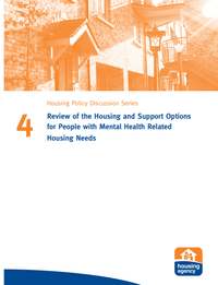 Review of the Housing and Support Options for People with Mental Health Related Housing Needs