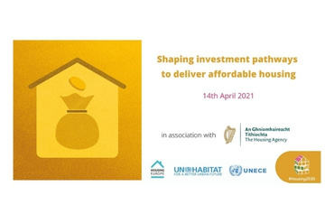 Event: Shaping Investment Pathways to Deliver Affordable Housing