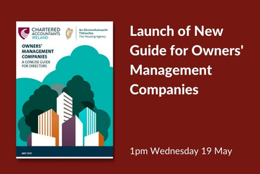 Launch of New Guide for Owners' Management Companies