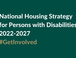 The National Housing Strategy for Persons with Disabilities 2022-2027: Have Your Say