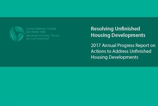 Minister for Housing & Urban Development Damien English TD published the 6th annual progress report