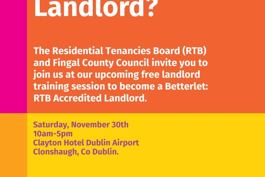 Training Session for Landlords