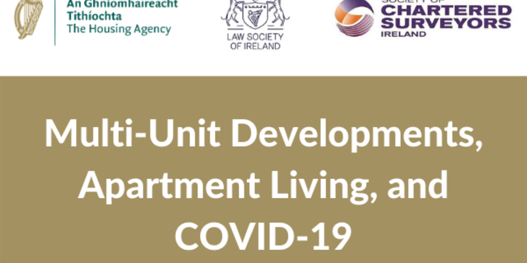 Webinar: Multi-Unit Developments, Apartment Living, and COVID-19