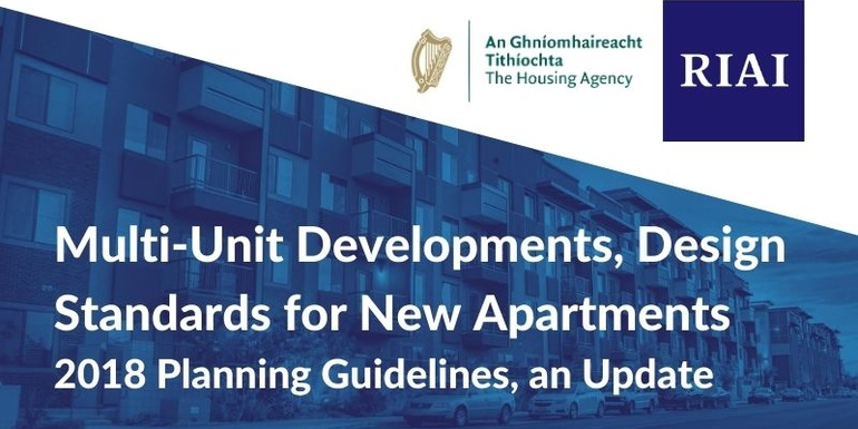 Watch: Multi-Unit Developments, Design Standards for New Apartments - 2018 Planning Guidelines, an Update