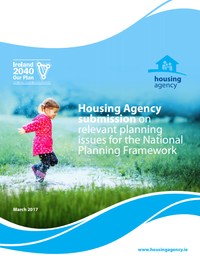 Housing Agency Submission on relevent planning issues for the National Planning Framework