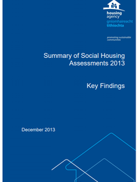 Summary of Social Housing Assessments 2013