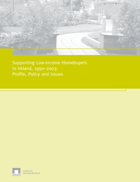 Supporting Low-income Homebuyers in Ireland, 1990–2003: