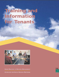 Good Practice Guidelines: Training and Information for Tenants