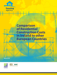 Comparison of Residential Construction Costs in Ireland to Other European Countries