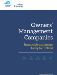 Owners' Management Companies, Sustainable Apartment Living for Ireland