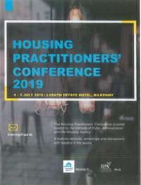 Housing Practioners' Conference 2019
