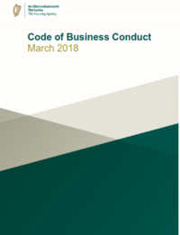 Housing Agency Code Of Conduct